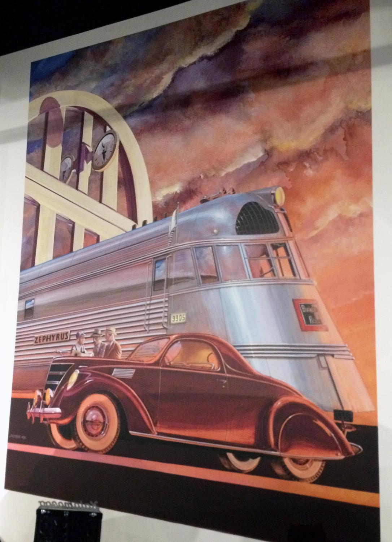 ArtDecoPoster_Locomotive_Gilmore Museum