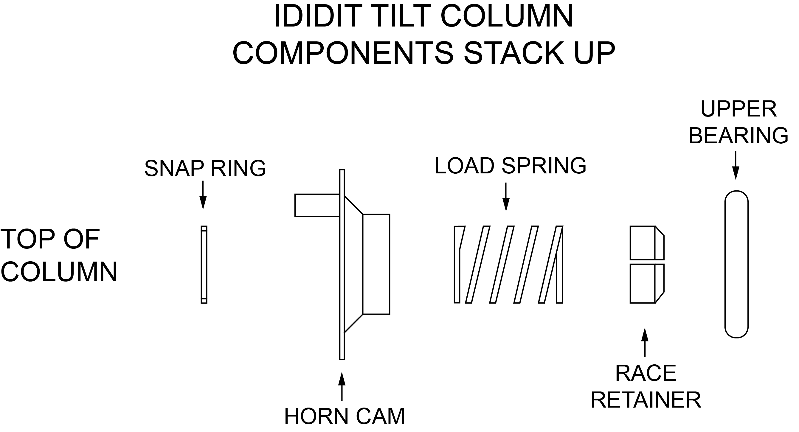 gen ii stack up tilt tech tips ididit steering column wiring diagram at gsmx.co