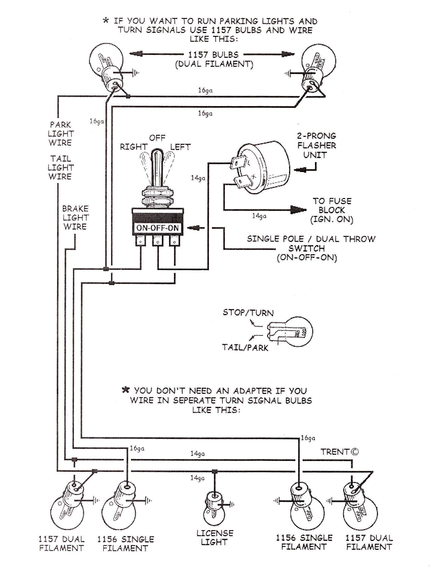turnsignalwiringdiagram tech tips 1966 chevy truck turn signal wiring diagram at bakdesigns.co