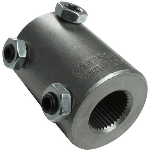 Steel Coupler 3 : Welded steel steering coupler fits quot spline