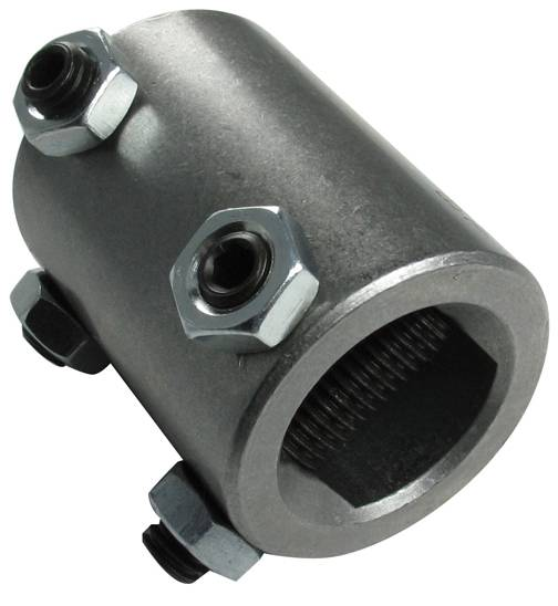 Steel Couplers With Witness Holes : Welded steel steering coupler fits quot double d