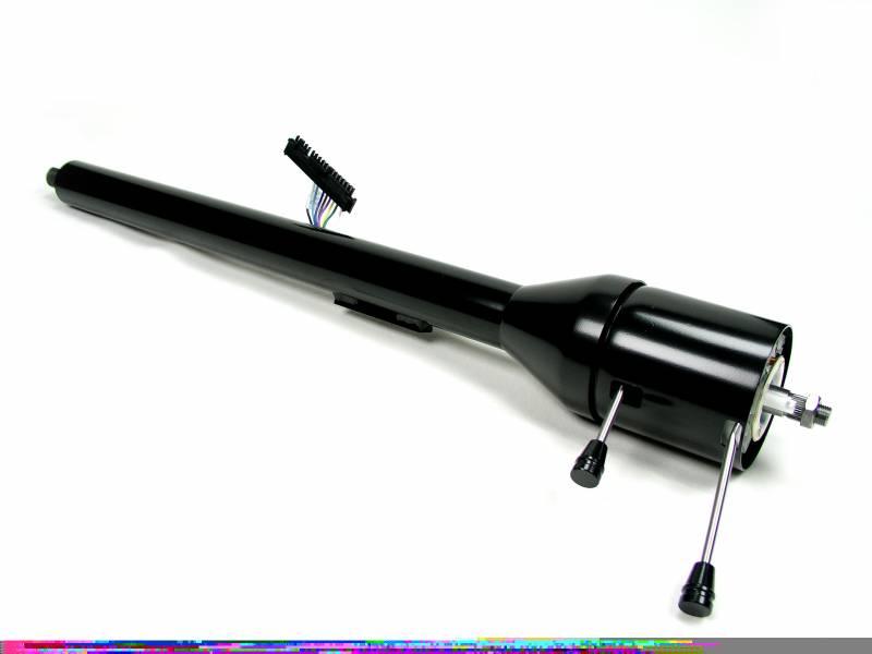 ididit llc - 1967-68 camaro tilt column shift steering column - black