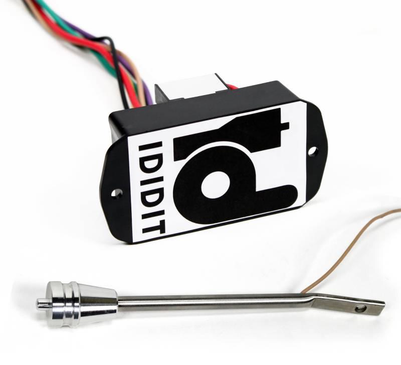 ididit steering column dimmer kit turn signal lever brushed aluminum 3100030130 ididit llc Ididit Turn Signal Wiring Diagram Ididit Turn Signal Wiring Diagram #21