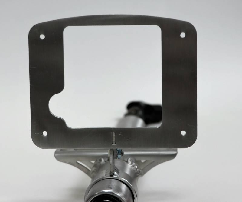 Ididit Digital Dash Mount Clamp-On Aluminum Natural AEM CD7 2 in S… 2101000030