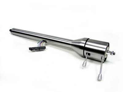 ididit  LLC - 1958 Impala Tilt Floor Shift Steering Column - Paintable Steel