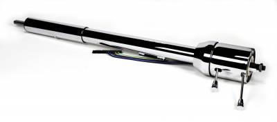 ididit  LLC - 1967-69 Chrylser B-Body Tilt Floor Shift Steering Column - Chrome