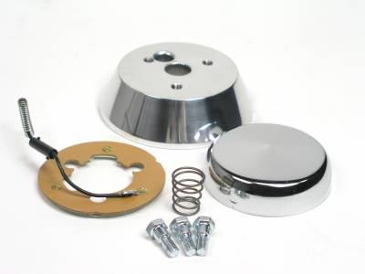 ididit  LLC - Adaptor 3 Bolt Bell with Horn Polished