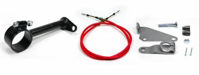 "ididit  LLC - Cable Shift Linkage-2 1/4"" ididit column - C4 Transmission"