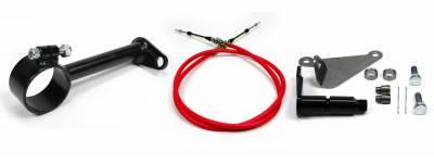 "ididit  LLC - Cable Shift Linkage-2 1/4"" ididit column - AOD Transmission"