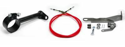 "ididit  LLC - Cable Shift Linkage-2 1/4"" ididit column - 727 & 904 Trans"