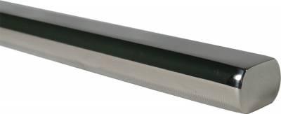 "ididit  LLC - Steering Shaft  Polished Stainless  3/4DD Shaft  36"" Long"