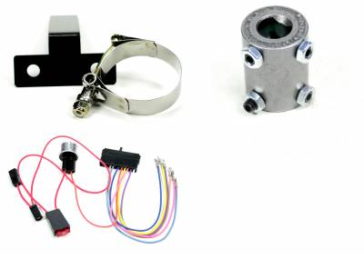 ididit  LLC - Installation Kit - 55 Chevy Floor Shift - C/F/W