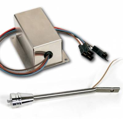 ididit  LLC - Wiper Kit - Turn Signal Lever Brushed Aluminum