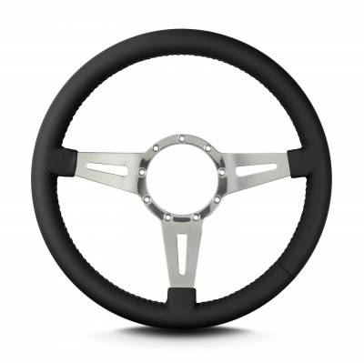 ididit  LLC - Lecarra Steering Wheel Mark4 Elegante Black