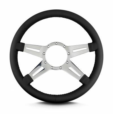 ididit  LLC - Lecarra Steering Wheel Mark9 Elegante Black