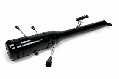 "Universal Columns - Tilt & Telescoping - Floor Shift - ididit  LLC - 33 1/4"" 9-bolt Tilt/Telescoping Floor Shift  Steering Column - Black"