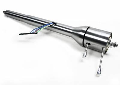 ididit  LLC - 1967-68 RHD Camaro Chevelle GTO Tilt Floor Shift  Steering Column - Paintable Steel