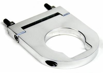 """Accessories - Column Drops & Underdash Mounts - ididit  LLC - Column Drop 4 1/2"""" x Van 2"""" Brushed"""