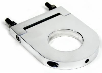 "Accessories - Column Drops & Underdash Mounts - ididit  LLC - Column Drop 4 1/2"" x ididit II 2"" Polished"