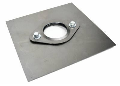 """Accessories - Floor Mounts - ididit  LLC - Floor Mount Flange with Floor Plate 1 1/2"""""""
