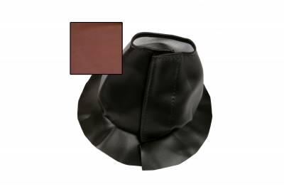 Accessories - Floor Mounts - ididit  LLC - Boot for Trim Kit Floor Mount Brown