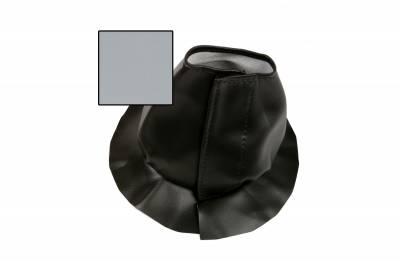 Accessories - Floor Mounts - ididit  LLC - Boot for Trim Kit Floor Mount Grey