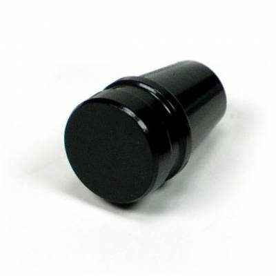 "Accessories - Knobs, Levers & Shift Arms - ididit  LLC - Knob ididit 3/16"" Black"