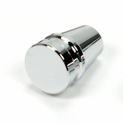 "Accessories - Knobs, Levers & Shift Arms - ididit  LLC - Knob ididit 1/4"" Chrome"
