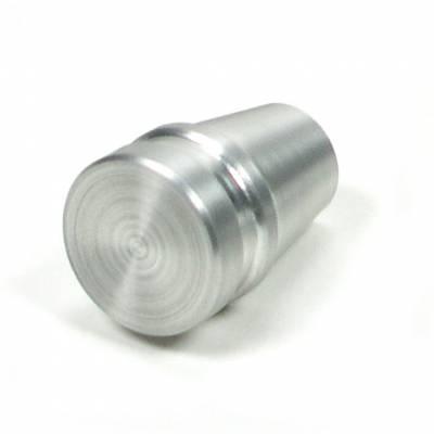 "Accessories - Knobs, Levers & Shift Arms - ididit  LLC - Knob ididit 1/4"" Brushed"