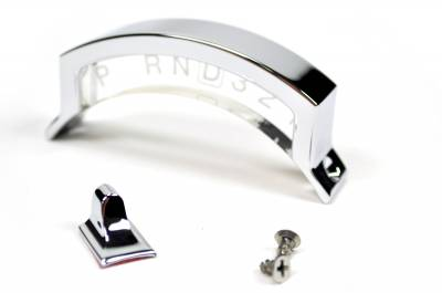 Indicator with Aluminum Housing Ford AODE 1992 & up Chrome