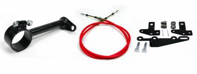 """Accessories - Cable Shift Linkage Kits - ididit  LLC - Cable Shift Linkage-2"""" ididit column - GM Transmission"""