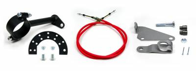 """Accessories - Cable Shift Linkage Kits - ididit  LLC - Cable Shift Linkage-2 1/4"""" Ford Column - C4 Transmission"""
