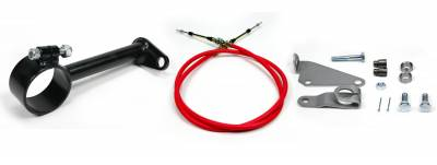 """Accessories - Cable Shift Linkage Kits - ididit  LLC - Cable Shift Linkage-2 1/4"""" ididit column - C6 Transmission"""