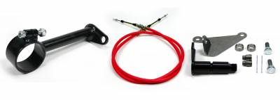 """Accessories - Cable Shift Linkage Kits - ididit  LLC - Cable Shift Linkage-2 1/4"""" ididit column - AOD Transmission"""