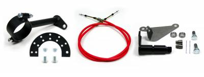 """Accessories - Cable Shift Linkage Kits - ididit  LLC - Cable Shift Linkage-2 1/4"""" Ford Column - AOD Transmission"""