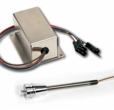 Accessories - Dimmer & Wiper Kits - ididit  LLC - Wiper Kit - Tilt Lever Brushed Aluminum