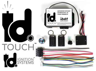 Accessories - id. Ignition Systems - ididit  LLC - id.TOUCH Keyless Start Ignition System
