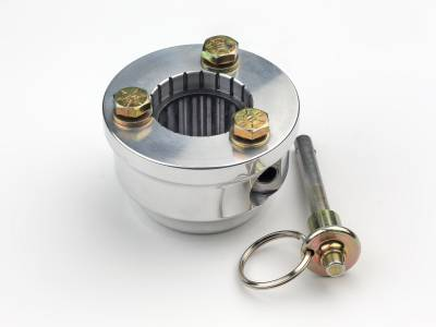 Performance Columns - ididit  LLC - 3 Bolt Pin-Style Quick Release Hub-1/4-28