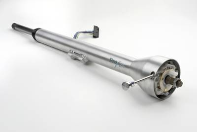 ididit  LLC - Steering Column Pro-Lite Straight 65-66 Mustang - Brushed Aluminum