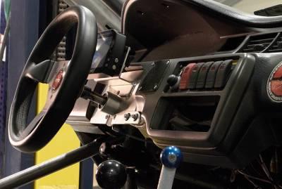 Steering Column - ididit Performance Steering Pro-Fab - Steering Column Straight Civic Sportsman Race - Raw - Image 2